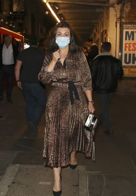 Susanna Reid - Out in Covent Garden in London 08/28/2021