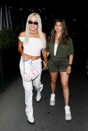 Tana Mongeau - Mr. Chow in Beverly Hills 08/07/2021