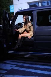 Tao Wickrath - Photoshoot for Pretty Little Thing Campaign in NY 08/08/2021