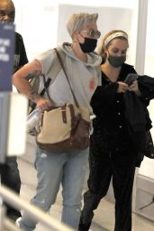 Taryn Manning - LAX Airport in Los Angeles 08/12/2021