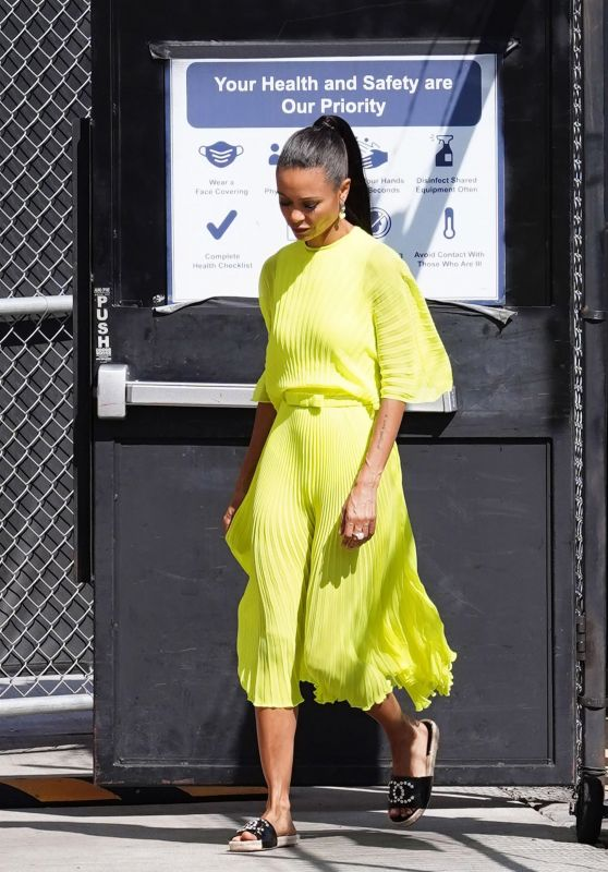 Thandie Newton at the El Capitan Entertainment Centre in Hollywood 08/26/2021