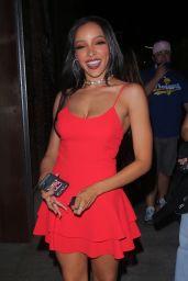 Tinashe at TAO in Los Angeles 08/04/2021