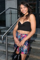 Vanessa Bauer in a Tiny Cropped Top and Mini Skirt at the Six by Nico Restaurant Launch in London 08/06/2021