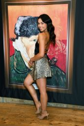 """Vanessa Bauer – """"Van Gogh: The Immersive Experience"""" Private View in London"""