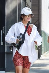 Vanessa Hudgens in Workout Gear - West Hollywood 08/25/2021