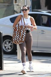 Vanessa Hudgens - Out at Dogpound Gym in West Hollywood 08/30/2021
