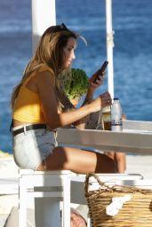 Vanessa Sierra on a Boat in Mykonos 08/07/2021