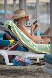 Vogue Williams in a Bikini - Costa del Sol 08/11/2021