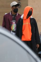 Willow Smith and Tyler Cole at Nobu in Malibu 08/16/2021