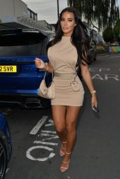 Yazmin Oukhellou - Out in Essex 08/14/2021
