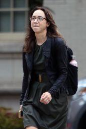 "Zoe Kazan - ""She Said"" Set in New York 08/19/2021"