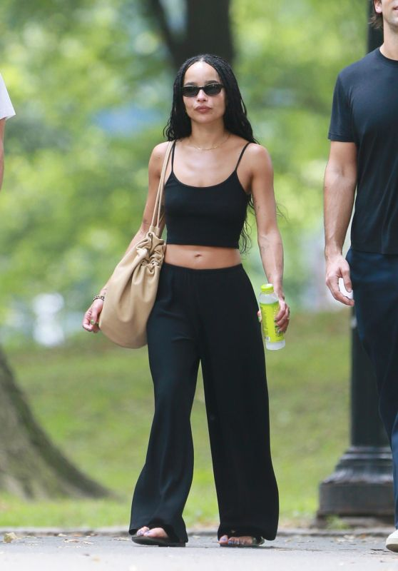 Zoe Kravitz and Channing Tatum - Out in Central Park in NY 08/28/2021