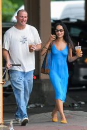 Zoe Kravitz - Out in New York 08/19/2021