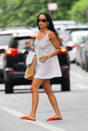 Zoë Kravitz - Out in New York 08/20/2021