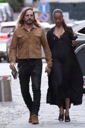 Zoe Saldana and Marco Perego - Portofino 08/08/2021
