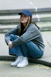 "Zoey Deutch - ""Not Okay"" Set in NY 08/08/2021"