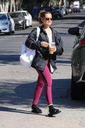 Addison Rae at a Pilates Class in LA 09/22/2021