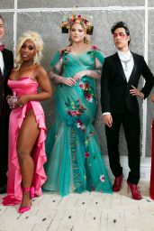 Addison Rae - Behind The Scenes With Youtube Creators For Met Gala in NY 09/13/2021