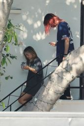 Addison Rae - Leaving a Hair Salon in West Hollywood 09/17/2021