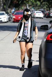 Addison Rae Sports a Penguin Hat - Los Angeles 09/21/2021