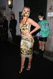 Addison Rae - Versace Special Event in Milan 09/26/2021