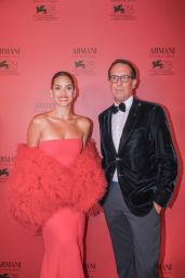Adria Arjona - Armani Beauty Exclusive Dinner at the 78th Venice International Film Festival