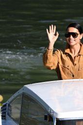Adriana Lima - Arrives at the 78th Venice International Film Festival 09/02/2021