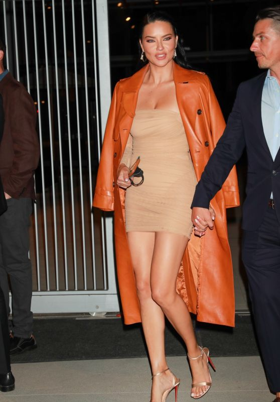 Adriana Lima - Outside the Vanity Fair Party of the Academy Award Museum Grand Opening in West Hollywood 09/29/2021