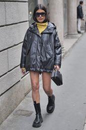 Aida Domenech – Ermanno Scervino Fashion Show in Milan 09/25/2021