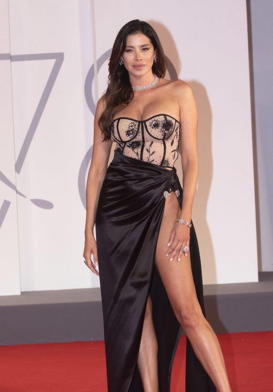 "Aida Yespica - ""The Lost Daughter"" Premiere at the 78th Venice Film Festival"