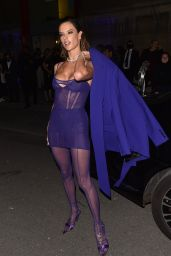 """Alessandra Ambrosio - Leaving the """"Thierry Mugler : Couturissime"""" Photocall in Paris 09/28/2021"""