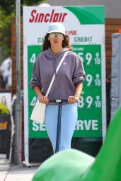 Alessandra Ambrosio on a Scooter in Brentwood 08/31/2021