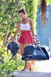 Alessandra Ambrosio - Out in LA 09/07/2021