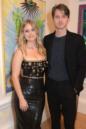 Alice Eve - Royal Academy of Arts Summer Exhibition 2021 Preview Party in London
