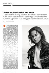 Alicia Vikander - Entertainment Weekly 10/01/2021 Issue