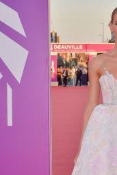 "Amadine Petit - ""Une Femme du Monde"" Screening at the 47th Deauville American Film Festival"