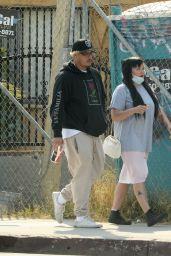 Amanda Bynes and Paul Michael - Out in LA 09/25/2021