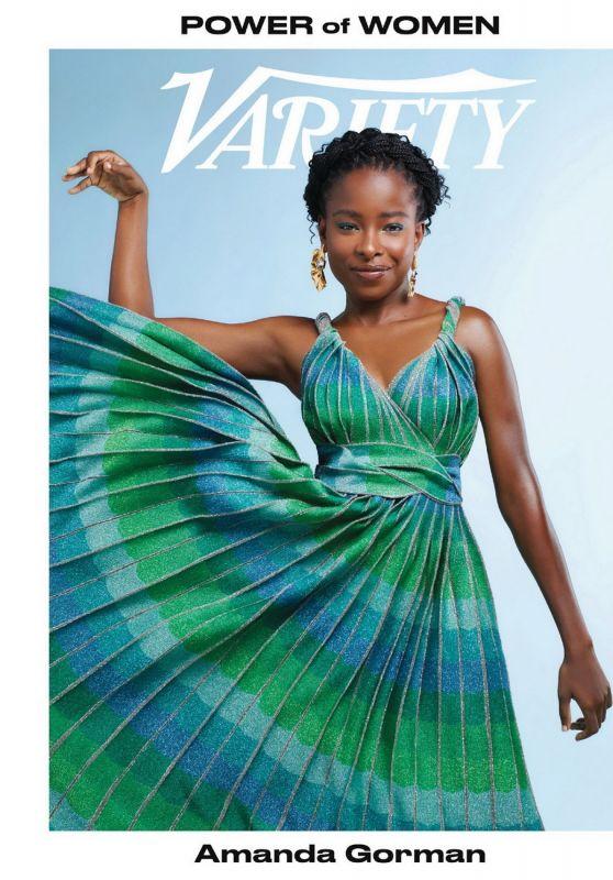 Amanda Gorman – Variety 09/29/2021 Issue