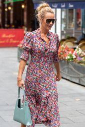 Amanda Holden - Leaving Global Studios in London 09/09/2021