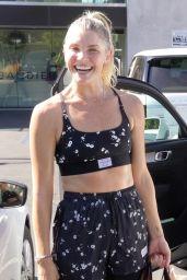 Amanda Kloots at DWTS Rehearsal Studio in LA 09/06/2021