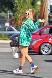 Amanda Kloots - Heading Into DWTS Rehearsals in Pasadena 09/15/2021