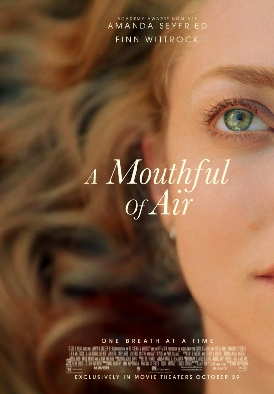 """Amanda Seyfried - """"A Mouthful Of Air"""" Poster and Trailer"""
