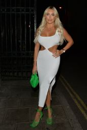 Amber Turner at The Siding Bar in London 09/25/2021