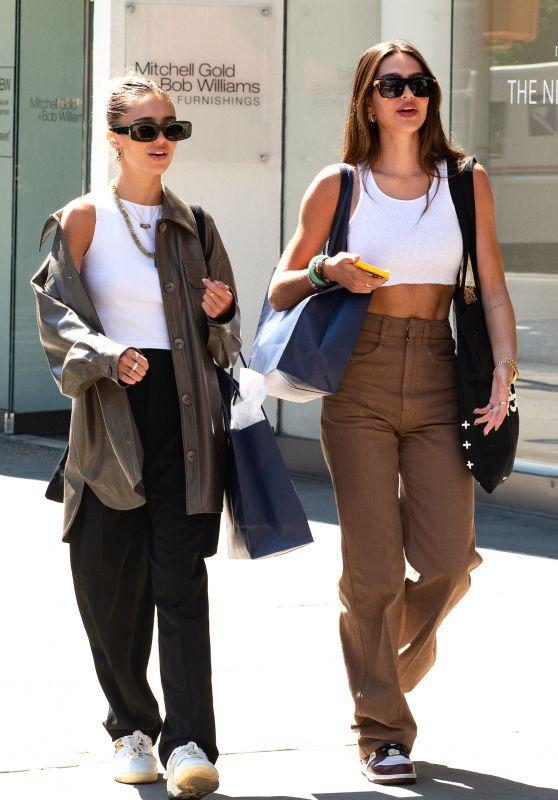 Amelia Hamlin and Delilah Hamlin - Out in NYC 09/04/2021