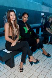 Amelia Hamlin - David Koma Show at London Fashion Week 09/17/2021