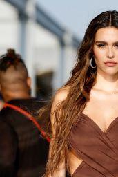 Amelia Hamlin – DUNDAS x REVOLVE NYFW Runway Show at Casa Cipriani in NYC 09/08/2021
