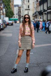 Amelia Hamlin - Paul & Joe SS22 Fashion Week in London 09/20/2021