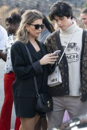 Amelie Zilber – Arrives Coach Fashion Show at NYFW 09/10/2021