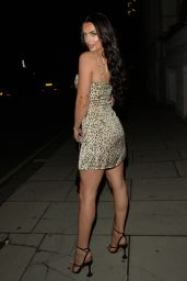 Amy Day Night Out Style - Novikov in London 09/11/2021