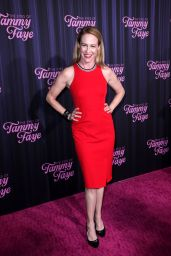 """Amy Hargraves – """"The Eyes of Tammy Faye"""" Premiere in NYC 09/14/2021"""